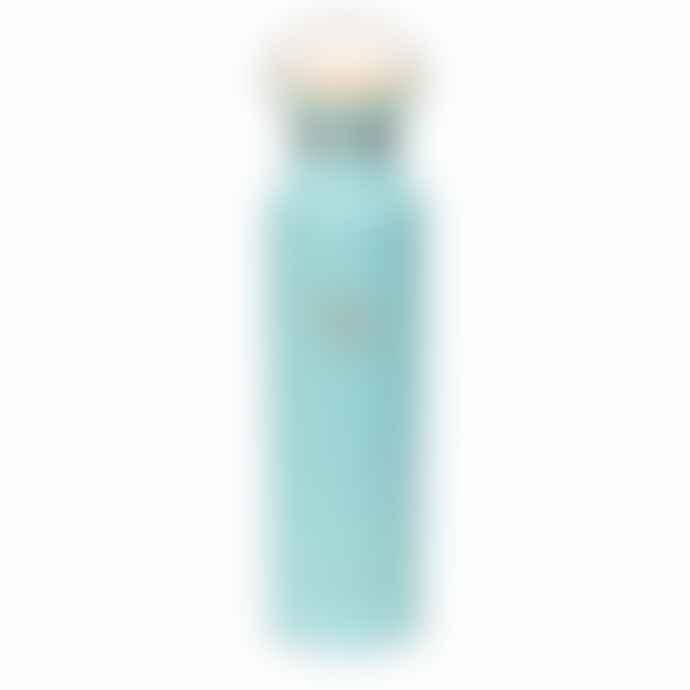 Earthwell 22 Oz 65 Cl Woodie Vacuum Bottle Maple Aqua Blue