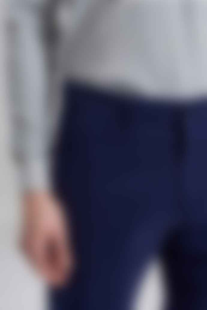 L'Exception Paris Navy Chino Twill Shorts