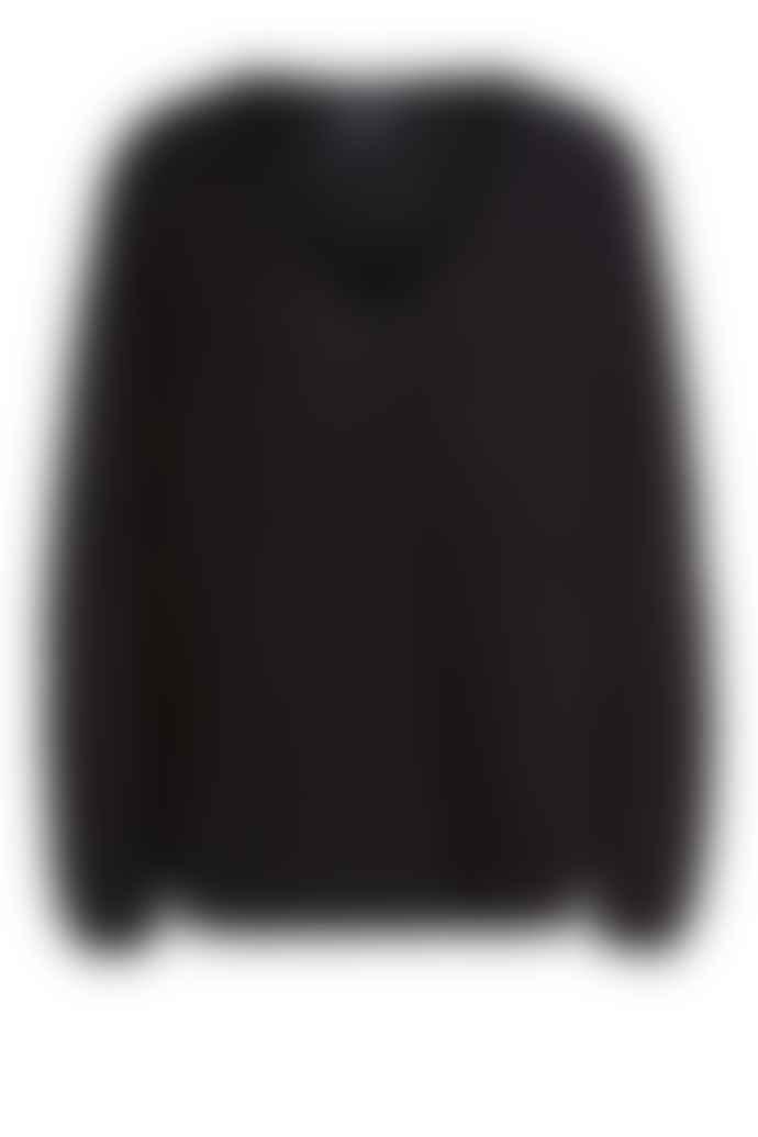 Set Fashion Black Knitted Jumper