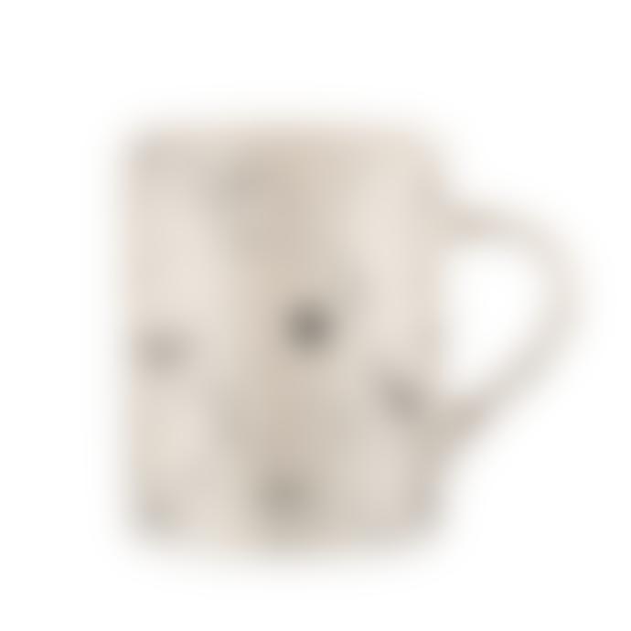 Nkuku Tall Black and White Splatter Mug