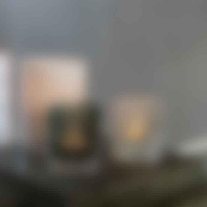 Skogsberg Smart Rosaline Glass Boule Hurricane Candle Holder