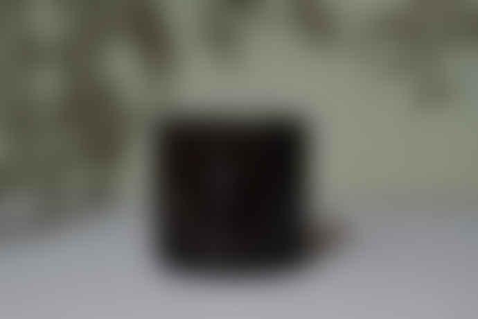 Wikholm Form Medium Brown Mottled Ceramic Pot
