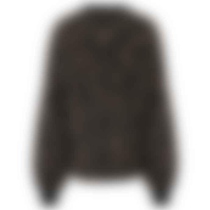 Golden Goose Deluxe Brand Leopard Kaneshon Sweater