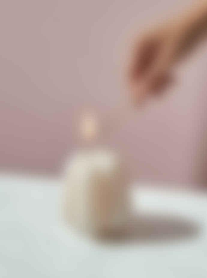 Octaevo Cream Sculptural Templo Candle