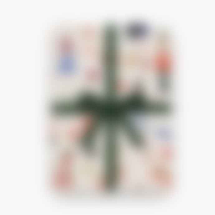 Rifle Paper Co. Nutcracker Three Christmas Wrapping Paper Sheets From