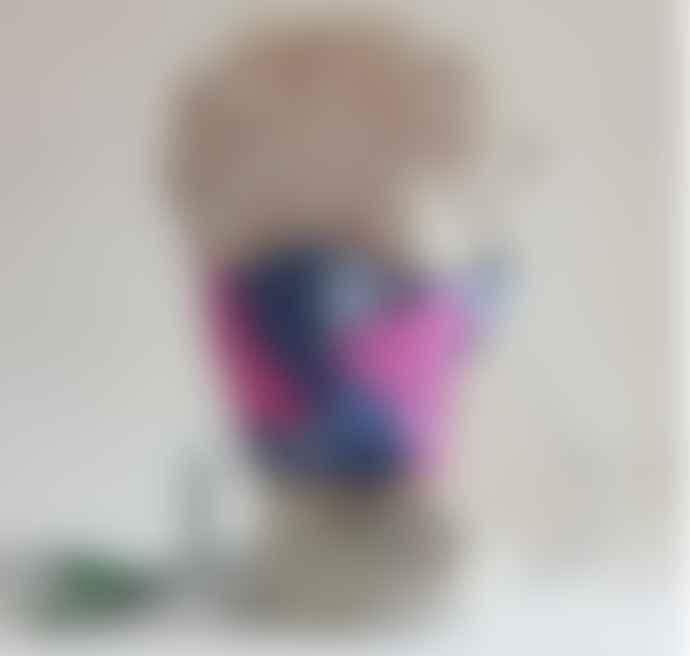 Lolly  &  Kiks  Face Mask Wax Print Cotton Tobi
