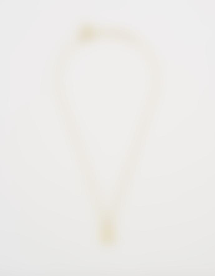 Estella Bartlett  Gold Heart Lock Necklace