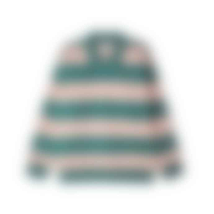 OBEY Ashmore Polo Green Multi Sweatshirt