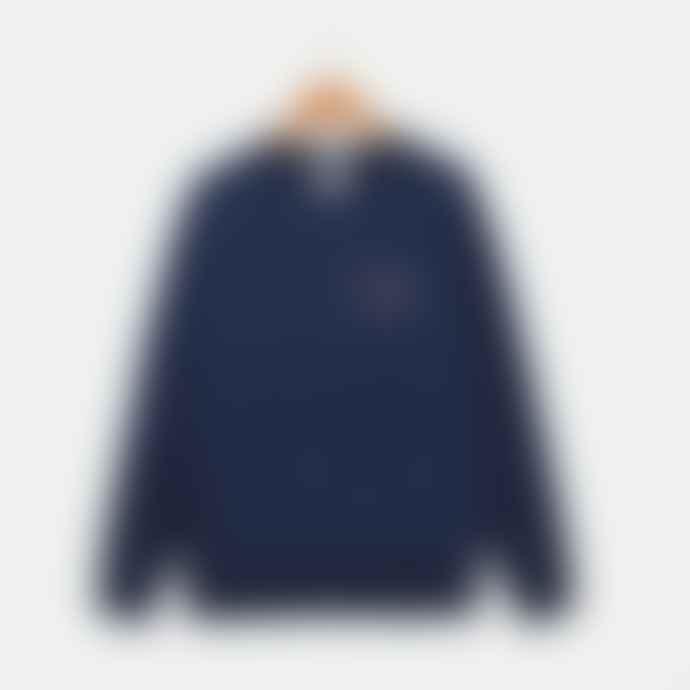 IDIOMA Indigo Blue Babylone Sweatshirt