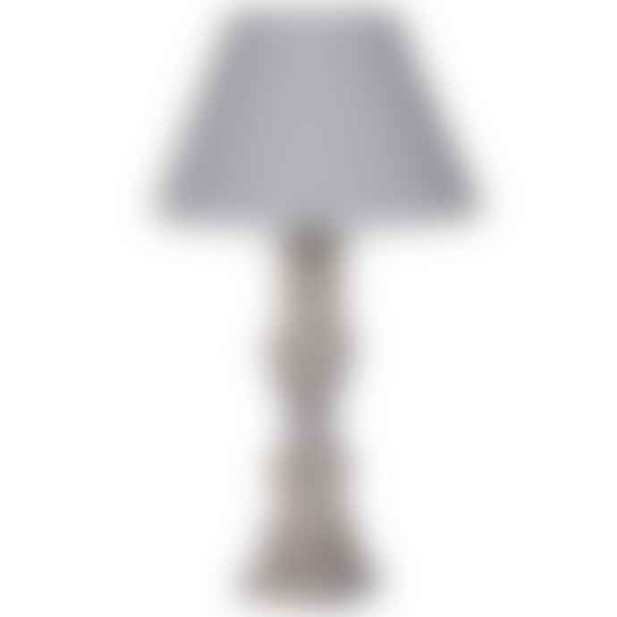 Cornucopia Pale Wash Table Lamp with Shade