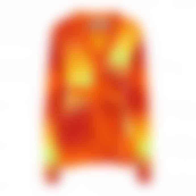 Golden Goose Deluxe Brand Orange Tiger Degrade Anavera Cardigan