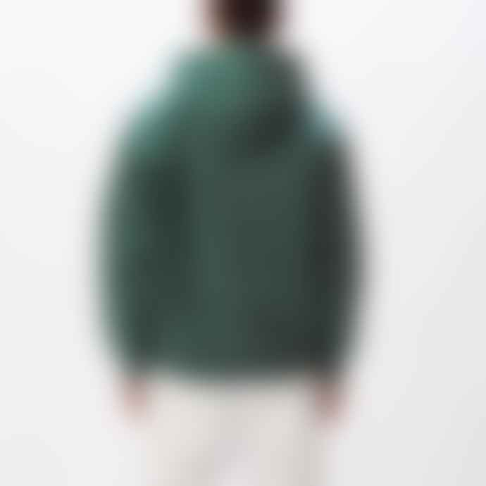 OBEY Hubbs Hooded Sweatshirt Mallard Green