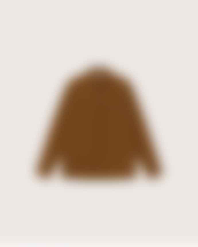 Thinking Mu Bes Overshirt Caramel