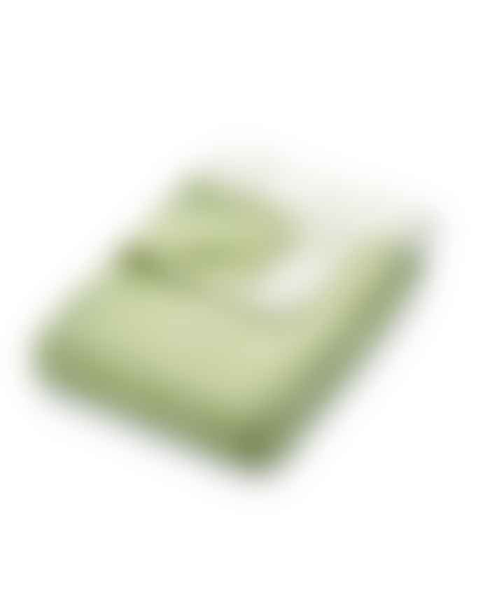 Phoenox Textiles Woven Diamond Throw Green