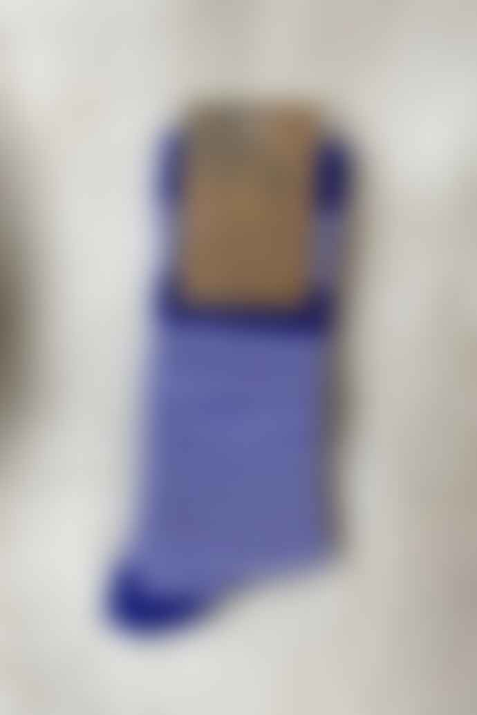 Joya Mens Stripey Wool Blend Socks
