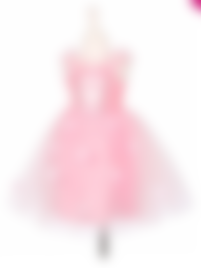 Souza Pink Janette Princess Dress for 3 to 4 Yrs