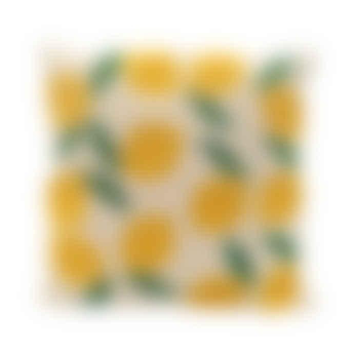A la Cushion Beads - Lemon