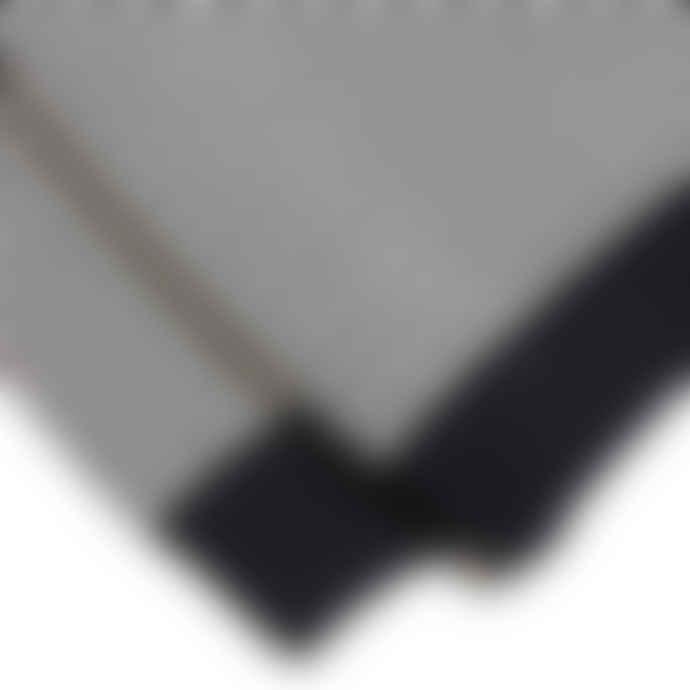 Far Afield Combin Stripe Fine Wool Knit Espresso Ecru