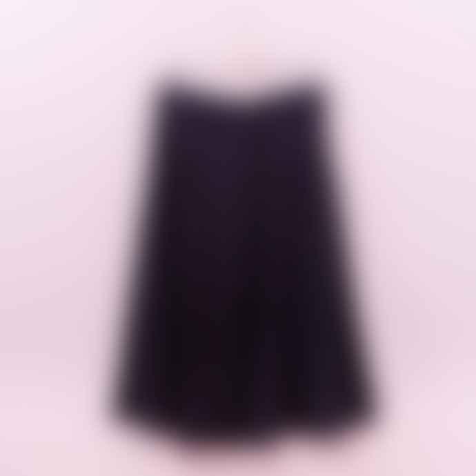Thinking Mu Black Tauret Skirt