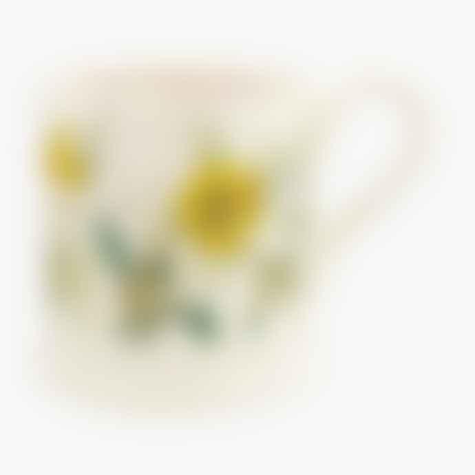 Emma Bridgewater Set of 2 Half Pint Daffodils & Narcissus Mugs