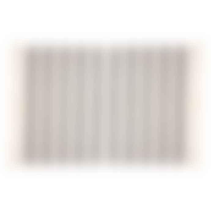 Sass & Belle  Black Scandi Boho Stripe Blanket Throw