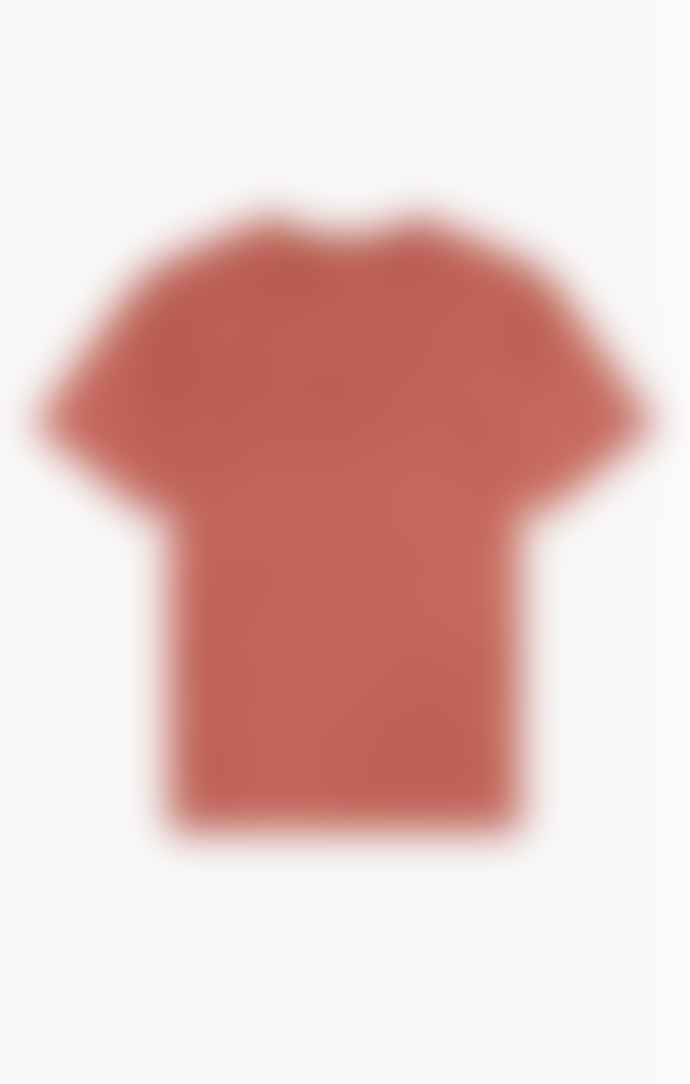 Champion Drop Shoulder T Shirt Blood Orange