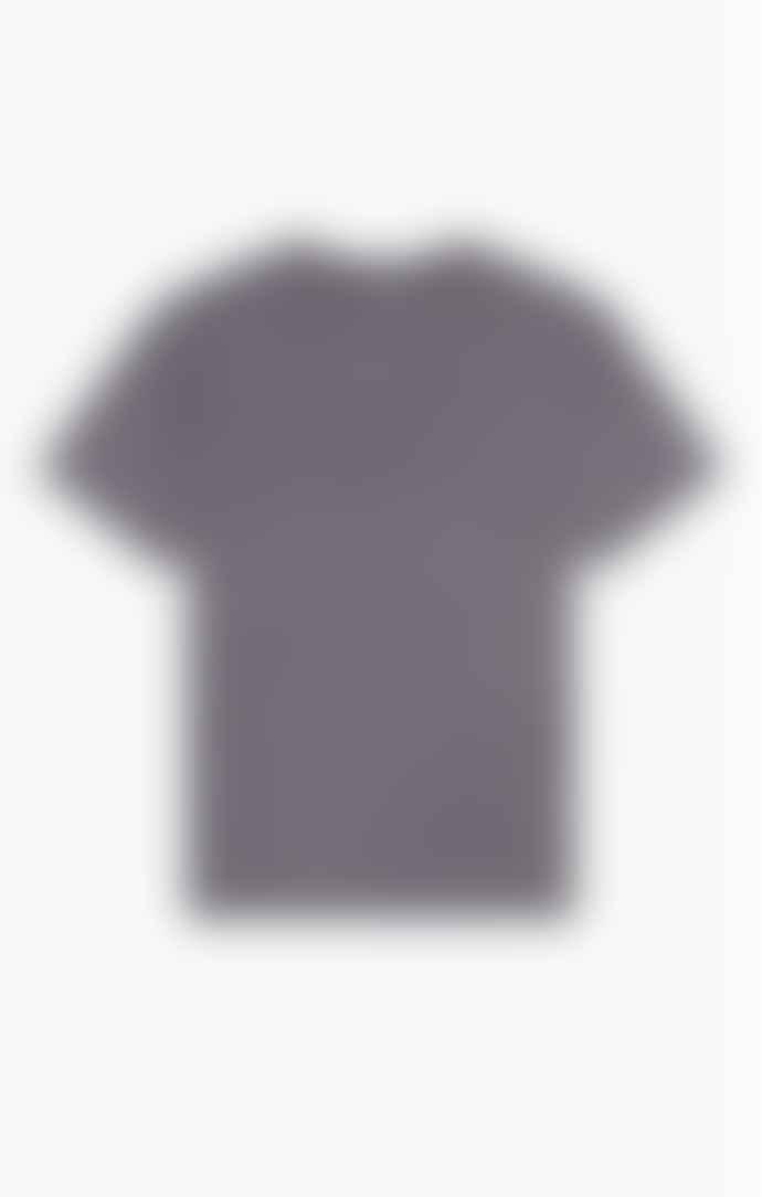 Champion Drop Shoulder T Shirt Slate Grey
