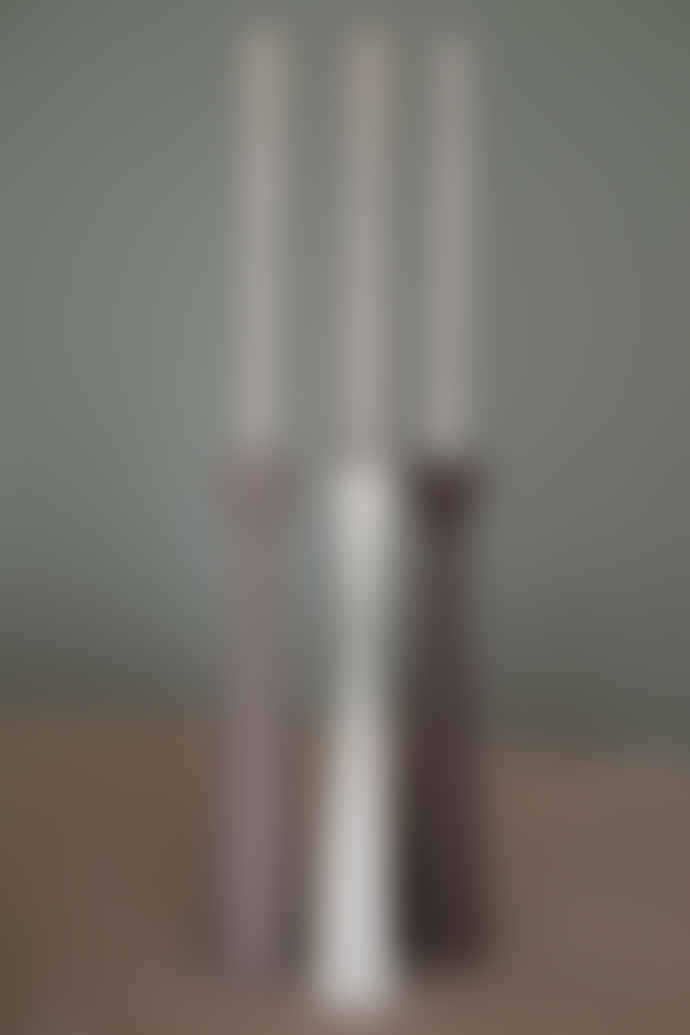 Kinta H25 cm  Aubergine Candle Holder
