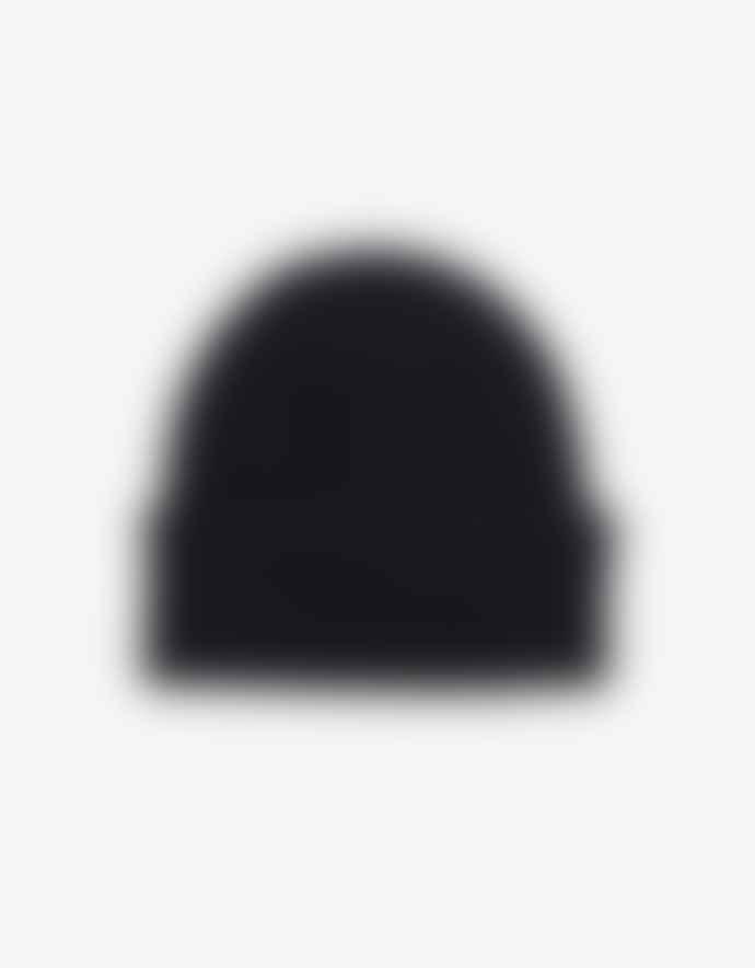 Colorful Standard Merino Wool Beanie Deep Black