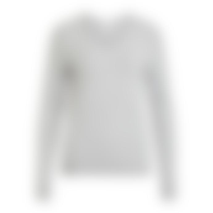 Vila V-Neck Viril Sweater Grey