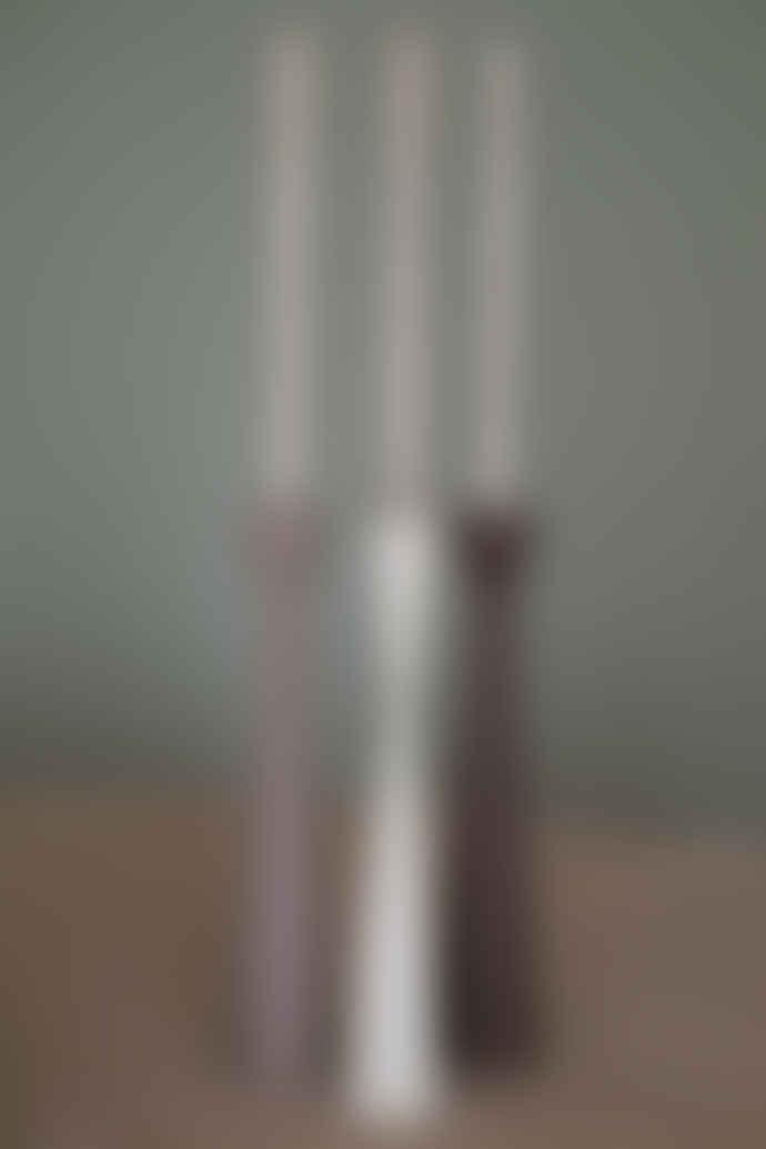 Kinta 30cm White Candle Holder