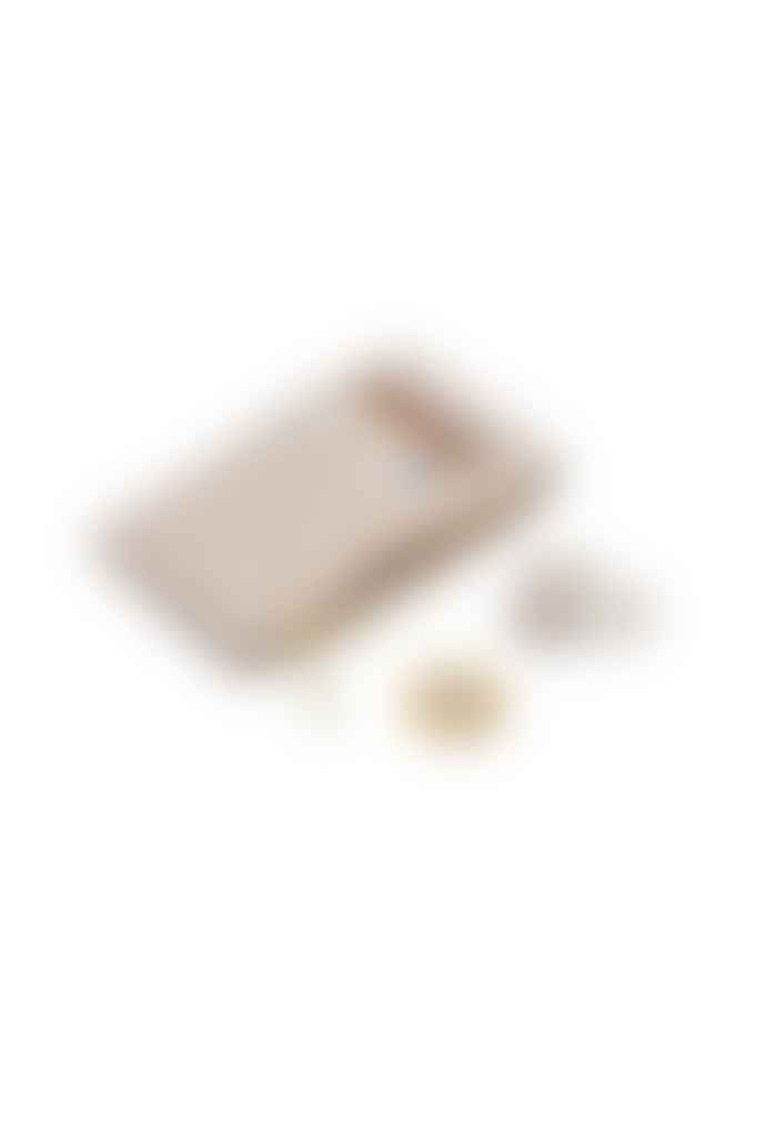Estella Bartlett  Rectangle Card Purse Cream Snake