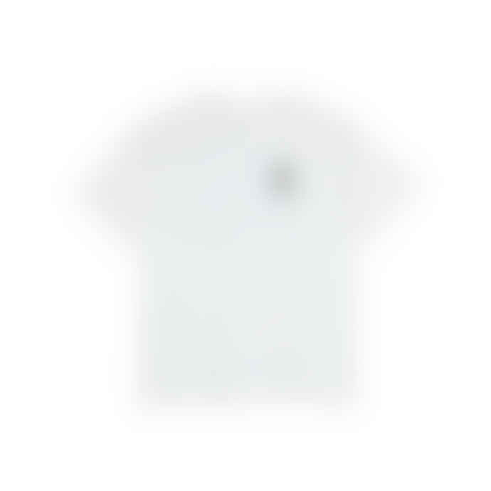 Polar White Cotton Weight T Shirt