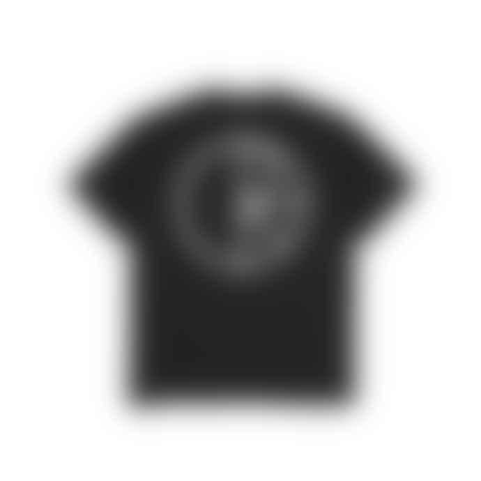 Polar Black Cotton Stroke T Shirt