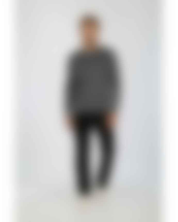 Armor Lux Gray Merino Wool Damgan Sweater