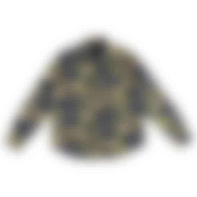 Eat Dust Combat Shirt Wildlife Japanese Fabric Cotton Blue
