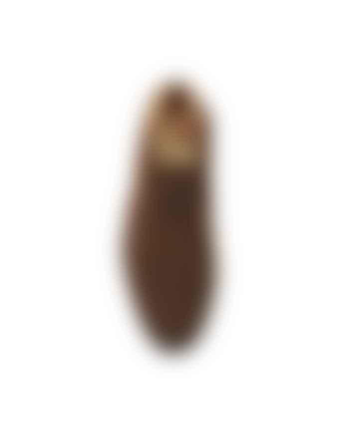 Sanders Chocolate Suede Hi Top Chukka Snuff Boots