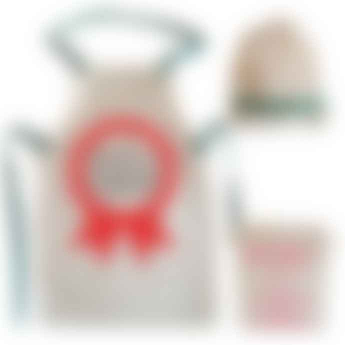Little Mashers Kids Cookset - Apron and Hat Junior Chef Design