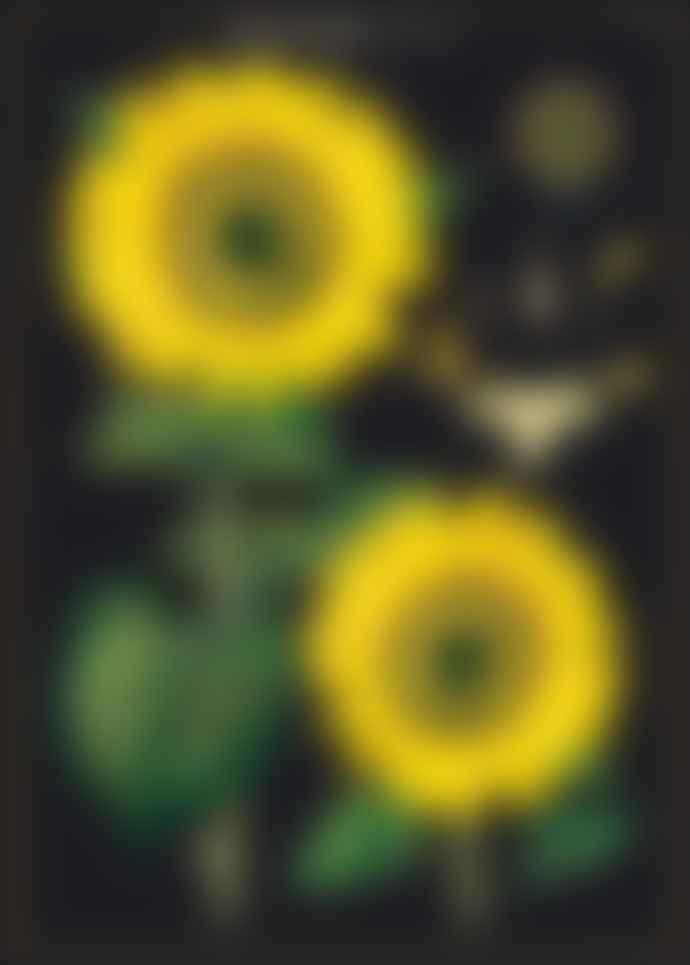 Cavallini & Co Sunflower Wrap / Poster