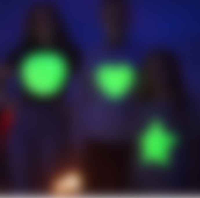 Little Mashers Glow In The Dark Interactive T-Shirt - Star Design