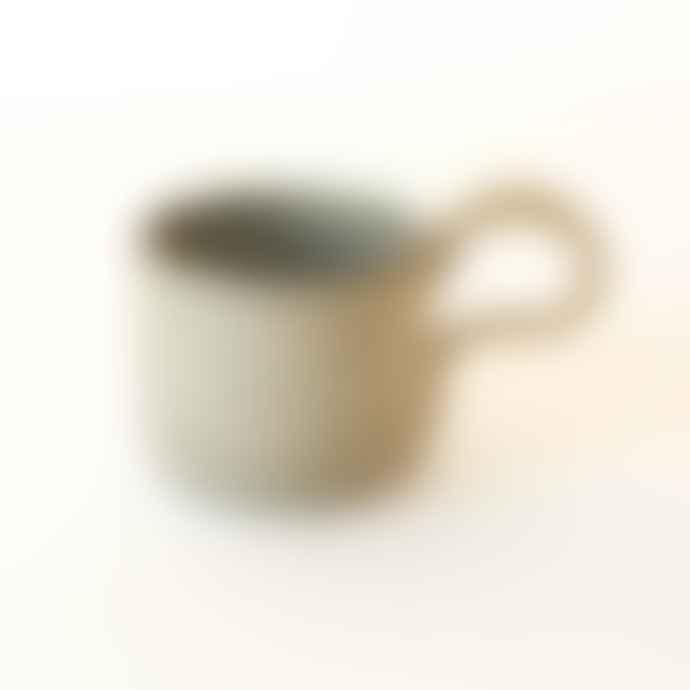Karen Dawn Curtis Hand Thrown Tea Cup Spring Day Blue