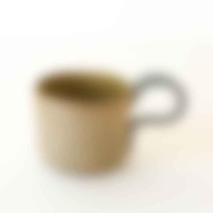 Karen Dawn Curtis Hand Thrown Tea Cup River