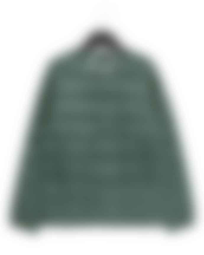 Taion Green Crew Neck Jacket
