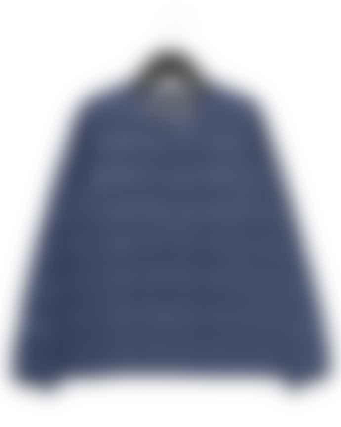Taion Navy Crew Neck Jacket