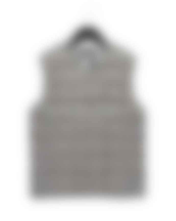 Taion Grey V Neck Vest