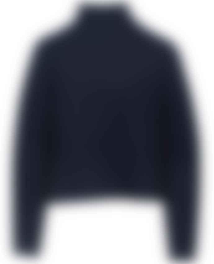 360 Cashmere Kayla Navy Knit