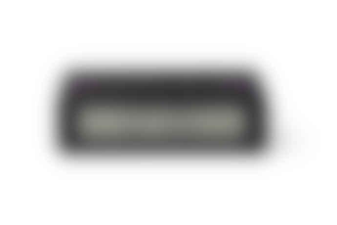 Lexon Rubber Flip+ Travel Alarm Clock