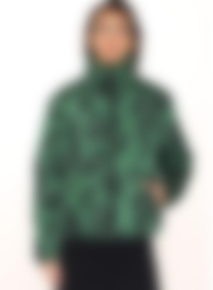 pepaloves Green Leaf Puffy Jacket