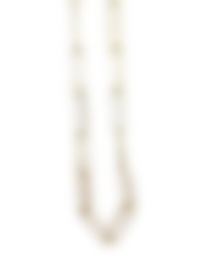 Madeleine & Gustave Golden Brass Necklace