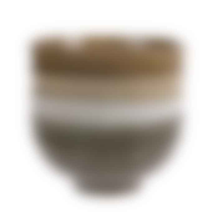 HKliving Japanese Ceramic Noodle Bowls Set Of 4